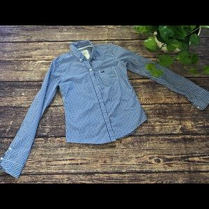 🌀Abercrombie & Fitch | Gingham Button Down